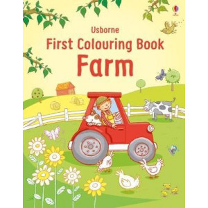 First Colouring Book Farm