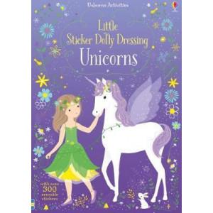 Little Sticker Dolly Dressing Unicorns