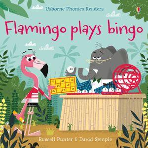 Flamingo plays Bingo