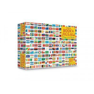 Usborne Book and Jigsaw: Flags of the World