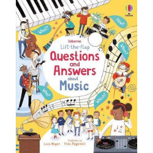 Lift-the-Flap Questions and Answers About Music