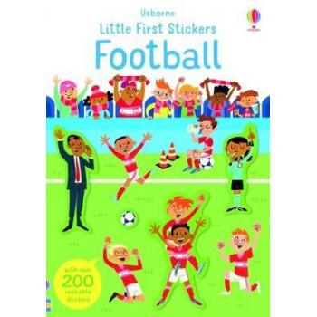 Little First Stickers Football