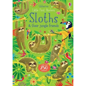 Little First Stickers Sloths