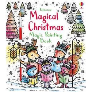 Magic painting enchanted christmas