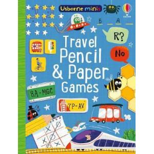 Mini Books Travel Pencil and Paper Games