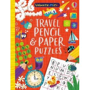 Mini Books Travel Pencil and Paper Puzzles