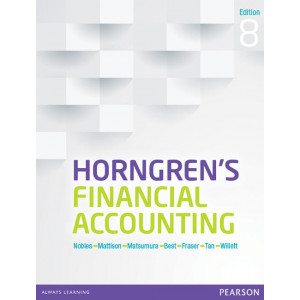 Horngren's Financial Accounting 8e