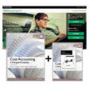 Cost Accounting, Global Edition (Pack: Book + Ebook + MyAccountingLab)