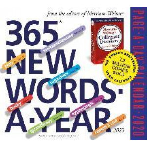 2020 365 Words-a-Year Page-A-Day Box Calendar