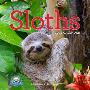 2022 Calendar Sloths