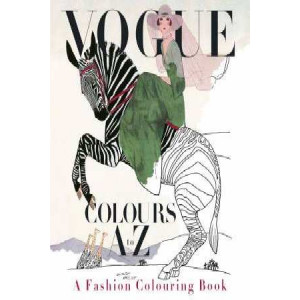 Vogue Colours A to Z: A Fashion Coloring Book
