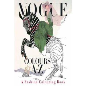 Vogue Colours A to Z: A Fashion Coloring Book