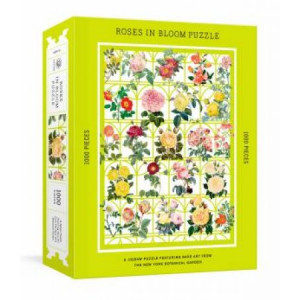 Roses in Bloom Puzzle: A 1000-Piece Jigsaw Puzzle Featuring Rare Art from the New York Botanical Subtitle change: Garden : Jigsaw Puzzles for Adults