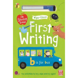 First Writing: Wipe-Clean Book with Pen