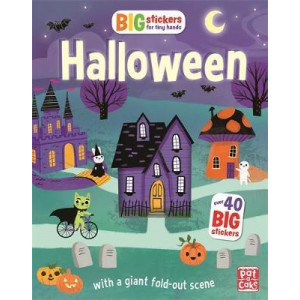 Big Stickers for Tiny Hands: Halloween: With scenes, activities and a giant fold-out picture