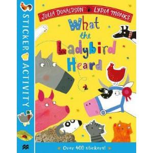 What the Ladybird Heard Sticker Book, The