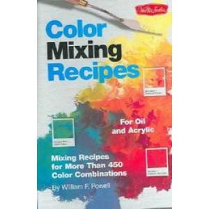 Colour Mixing Recipes Oil Acrylics