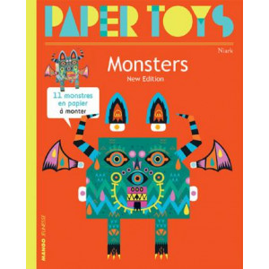 Paper Toys - Monsters (new Edition): 11 Paper Monsters to Build