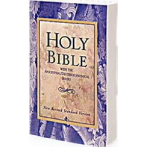 Holy Bible : NRSV New Revised Standard Version Bible with Apocrypha (104857)