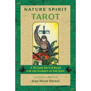 Nature Spirit Tarot:  78-Card Deck and Book for the Journey of the Soul