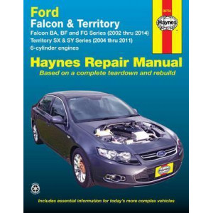 Ford Falcon Automotive Repair Manual: 2002-2014