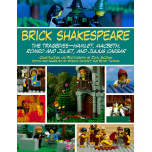 Brick Shakespeare - the Tragedies: Hamlet, Macbeth, Romeo and Juliet, and Julius Caesar