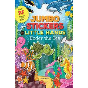Jumbo Stickers for Little Hands: Under the Sea