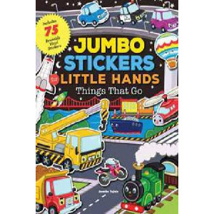 Jumbo Stickers for Little Hands: Things That Go