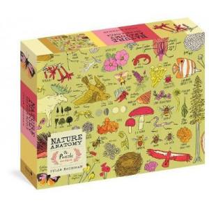 Nature Anatomy 500 Piece Jigsaw Puzzle