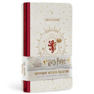 Harry Potter: Gryffindor Constellation Sewn Notebook Collection: Set of 3