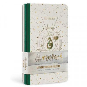 Harry Potter: Slytherin Constellation Sewn Notebook Collection: Set of 3