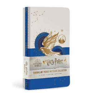 Harry Potter: Ravenclaw Constellation Sewn Pocket Notebook Collection: Set of 3