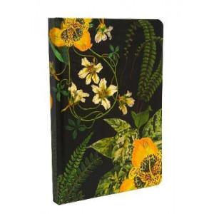 Art of Nature: Botanical Hardcover Ruled Journal
