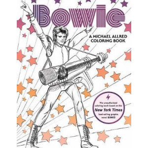 BOWIE: A Michael Allred Coloring Book
