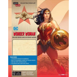IncrediBuilds: DC Wonder Woman Deluxe Book and Model Set