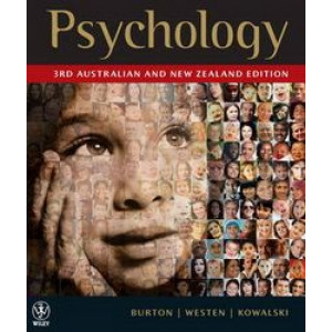 Psychology : 3rd Australian and New Zealand Edition