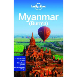 2014 Lonely Planet Myanmar (Burma)