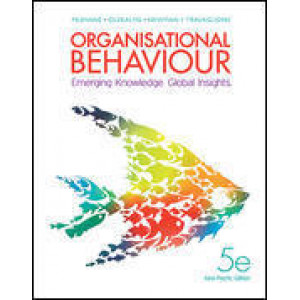 Organisational Behaviour 5E