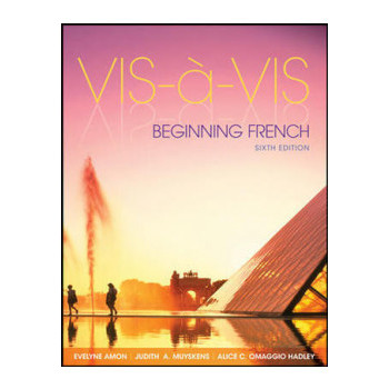 Vis-a-vis 6E: Beginning French + Connect Plus Online