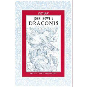 John Howe's Draconis: Art to Collect and Colour