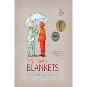 My Two Blankets: Arabic and English edition