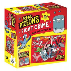 Real Pigeons Fight Crime Book and Puzzle Set: Real Pigeons Fight Crime