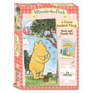 Friend Named Pooh Book and Puzzle Set