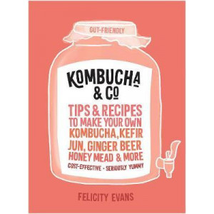 Kombucha & Co: Tips and Recipes to Make Your Own Kombucha, Kefir, Jun, Ginger Beer, Honey Mead and More
