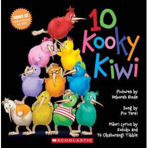 10 Kooky Kiwi (Book & CD)