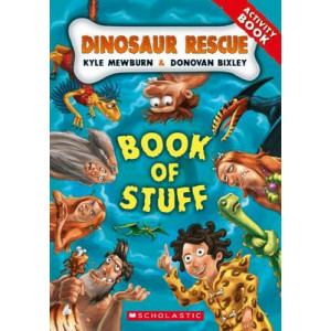 Dinosaur Rescue Book of Stuff