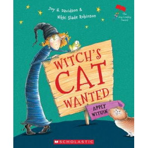 Witch's Cat Wanted: Apply Within