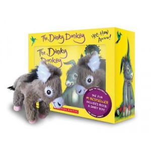 Dinky Donkey Boxed Set + Plush + Minibook