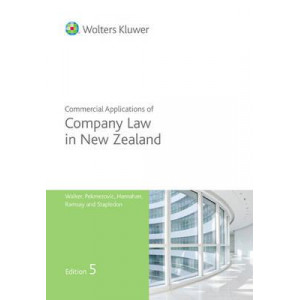 Commercial Applications of Company Law in New Zealand 5E