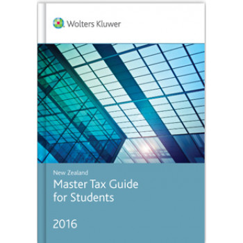 New Zealand Master Tax Guide for Students 2016